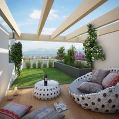 Projekty,  Dach płaski zaprojektowane przez winhard 3D