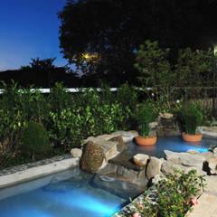 Garden by Eduardo Luppi Paisagismo Ltda., Eclectic
