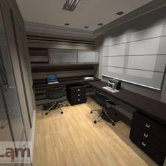Home Office - Projeto: Escritórios  por LAM Arquitetura | Interiores