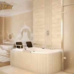 Восточные Сказки: Ванные комнаты в . Автор – Tatiana Zaitseva Design Studio,