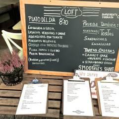 Decoración de una cafetería: Bares y Clubs de estilo  de EKIDAZU