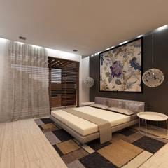 Vivienda: Habitaciones de estilo clásico por SOLIDO SLD