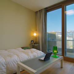 은평2지구 두산위브 42평형 : Design A3의  침실