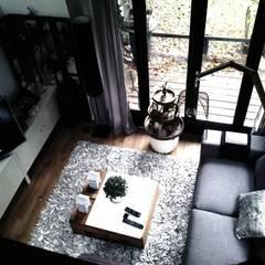 Rénovation d'un ancien atelier.: Maisons de style  par Amandine Leblanc
