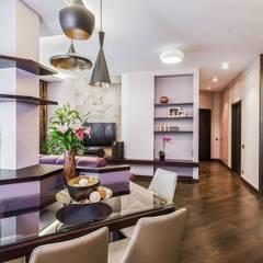 Сompound interior: Столовые комнаты в . Автор – Alena Gorskaya Design Studio, Минимализм
