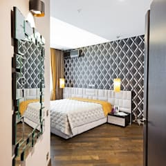 Сompound interior: Спальни в . Автор – Alena Gorskaya Design Studio, Минимализм