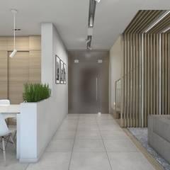 Projekt domu jednorodzinnego 7: styl , w kategorii Korytarz, przedpokój zaprojektowany przez BAGUA Pracownia Architektury Wnętrz