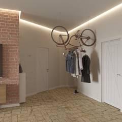 Corridor & hallway by Tatiana Zaitseva Design Studio, Industrial