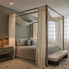 country Bedroom by Denise Barretto Arquitetura