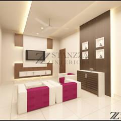 اتاق نشیمن توسطstanzza , مدرن