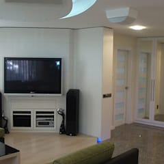 Living room by STİLART MOBİLYA DEKORASYON İMALAT.İNŞAAT TAAH. SAN.VE TİC.LTD.ŞTİ.,