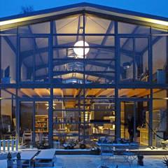 من buttler architekten صناعي زجاج