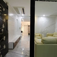 Residential project:  Corridor & hallway by NA ARCHITECTS