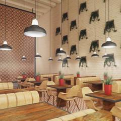 Restaurante Caffe Aroma em Jeddah, Arábia Saudita: Bares e clubes  por ASVS Arquitectos Associados