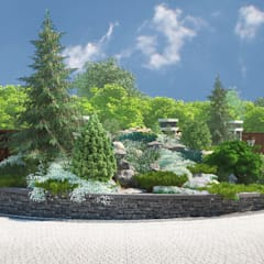 Garden by Мастерская ландшафта Дмитрия Бородавкина