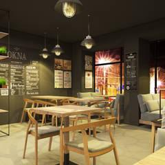 CAFE OKNA: Бары и клубы в . Автор – ZIKZAK architects