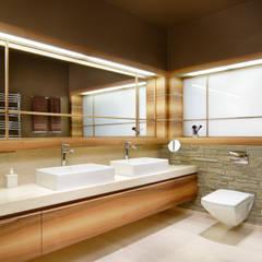 Łazienka Nowoczesna łazienka od Bartek Włodarczyk Architekt Nowoczesny