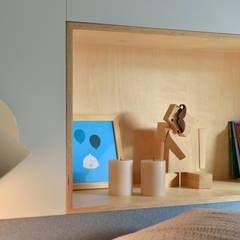 APPARTEMENT A LA CROIX ROUSSE: Chambre d'enfant de style de style Minimaliste par Tymeno