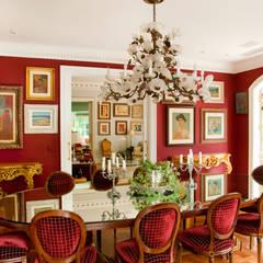 اتاق غذاخوری by Allan Malouf Arquitetura e Interiores