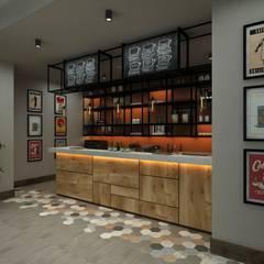 Ceren Torun Yiğit  – Fitness Center Kafe ve Restoran tasarımı:  tarz Yeme & İçme
