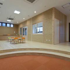 事業所内託児所: 宮田建築設計室が手掛けた医療機関です。