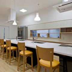 ダイニングキッチン: 宮田建築設計室が手掛けた医療機関です。