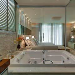 Modern spa by Isabella Magalhães Arquitetura & Interiores Modern Stone