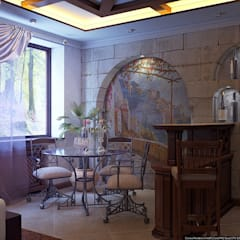 Terrace by Architoria 3D, Colonial Limestone