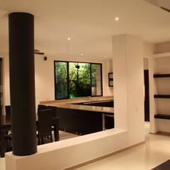 Casa Salazar: Salas de estilo  por Camilo Pulido Arquitectos