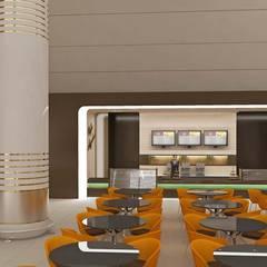 HİSARİ DESIGN STUDIO – ASHGABAT AİRPORT CAFE  İDEAS :  tarz Havalimanları
