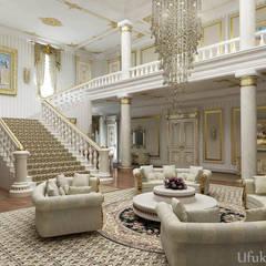 HİSARİ DESIGN STUDIO – Residance VIP:  tarz Oturma Odası, Klasik