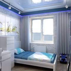 غرفة الاطفال تنفيذ Цунёв_Дизайн. Студия интерьерных решений., صناعي