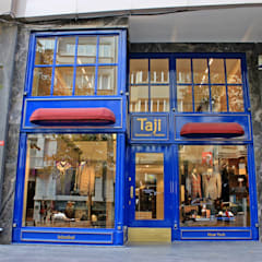 Siyah Sekiz Tasarım ve Mimarlık – Taji Gentlemen's Clothier - Abdi İpekçi Caddesi / Nişantaşı / İSTANBUL:  tarz Dükkânlar