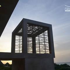CASA DUNAS: Terrazas de estilo  de Yucatan Green Design