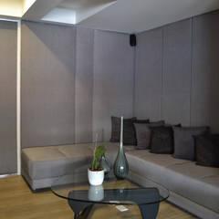 APARTAMENTO 97: Estudios y despachos de estilo ecléctico por santiago dussan architecture & Interior design