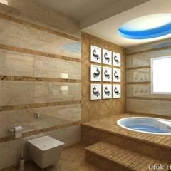 HİSARİ DESIGN STUDIO –  MISCELLANEOUS HOME PROJECT: modern tarz Banyo