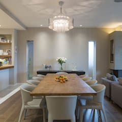 KSR Architects | Hampstead Village Home | Dining room:  Dining room by KSR Architects