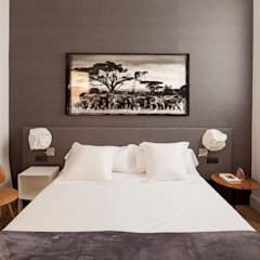 minimalistic Bedroom by Alex Gasca, architects.