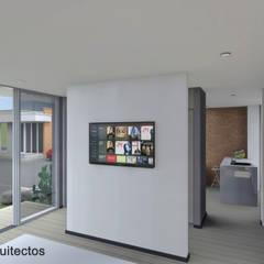 Kairos Apartaestudios: Habitaciones de estilo  por CS Arquitectos