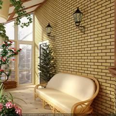 Conservatory by Дизайн студия 'Exmod' Павел Цунев