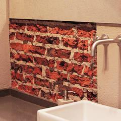 Casa CL: Baños de estilo  por BAM! arquitectura