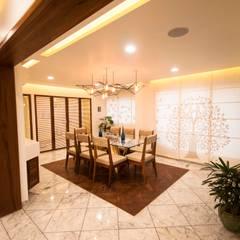 غرفة السفرة تنفيذ andblack design studio