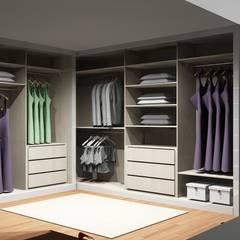Closets de estilo  por Amplitude - Mobiliário lda