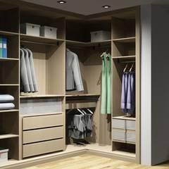 Dressing room by Amplitude - Mobiliário lda