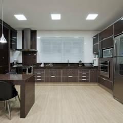Cozinha: Cozinhas  por Livia Martins Arquitetura e Interiores