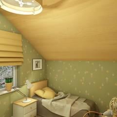 Dormitorios infantiles de estilo  por Студия Интерьерных Решений Десапт