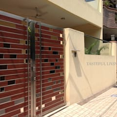 Residential project:  Corridor & hallway by Tasteful living,