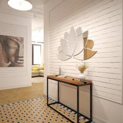 Corridor & hallway by «Студия 3.14»