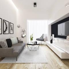 Alsemberg: Salon de style  par ZR-architects