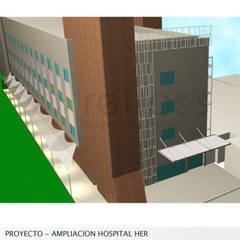 Proyecto de Ampliacion Hospital HER : Casas de estilo  por retross arquitectura y proyectos